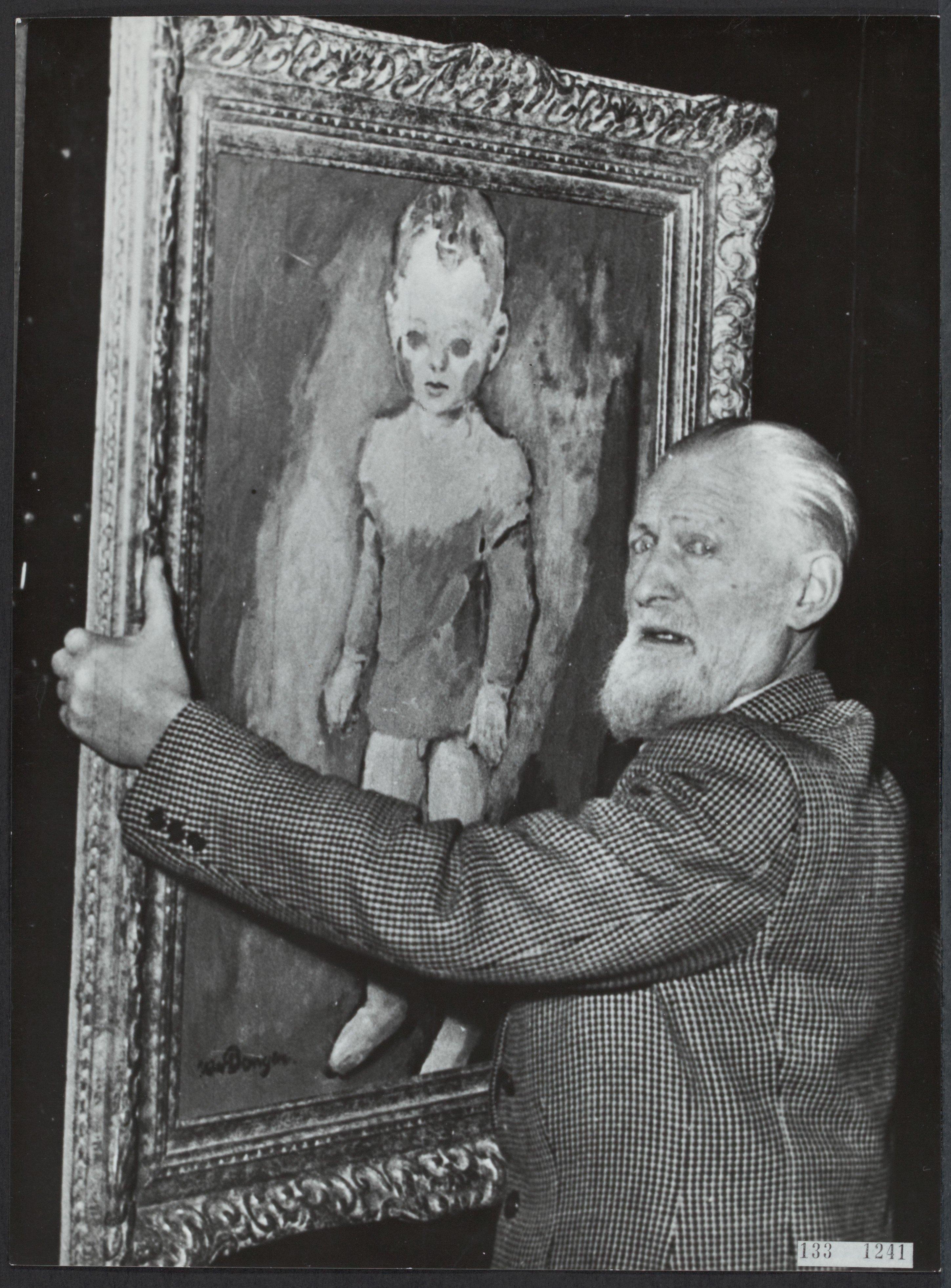 Filefotoportret Van Kees Van Dongen 1877 1968