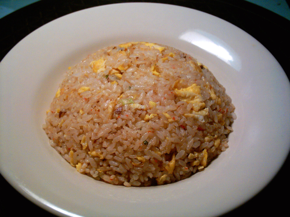 how to cook simple fried rice