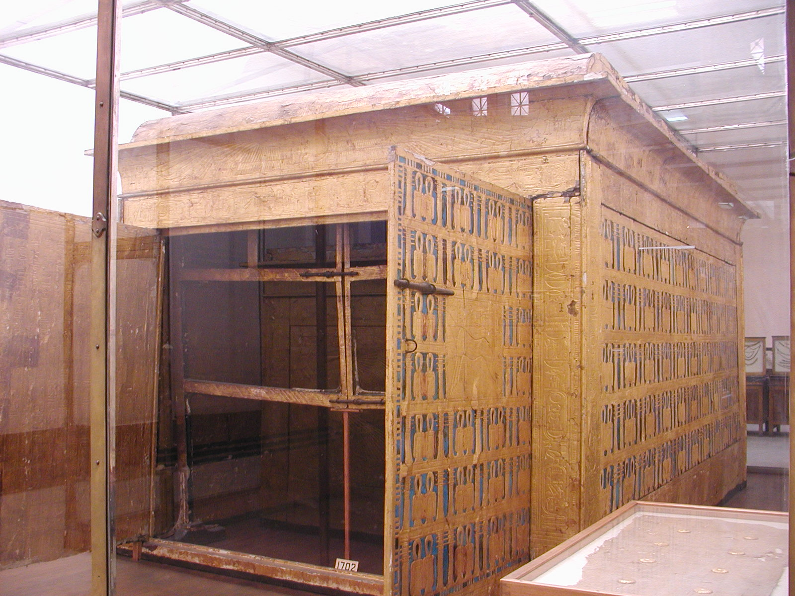 Funerary chapel found in Tutankhamun's tomb in the Valley of the Kings.