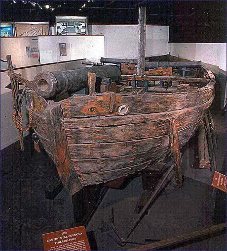 USS Philadelphia - 1776 Gunboat