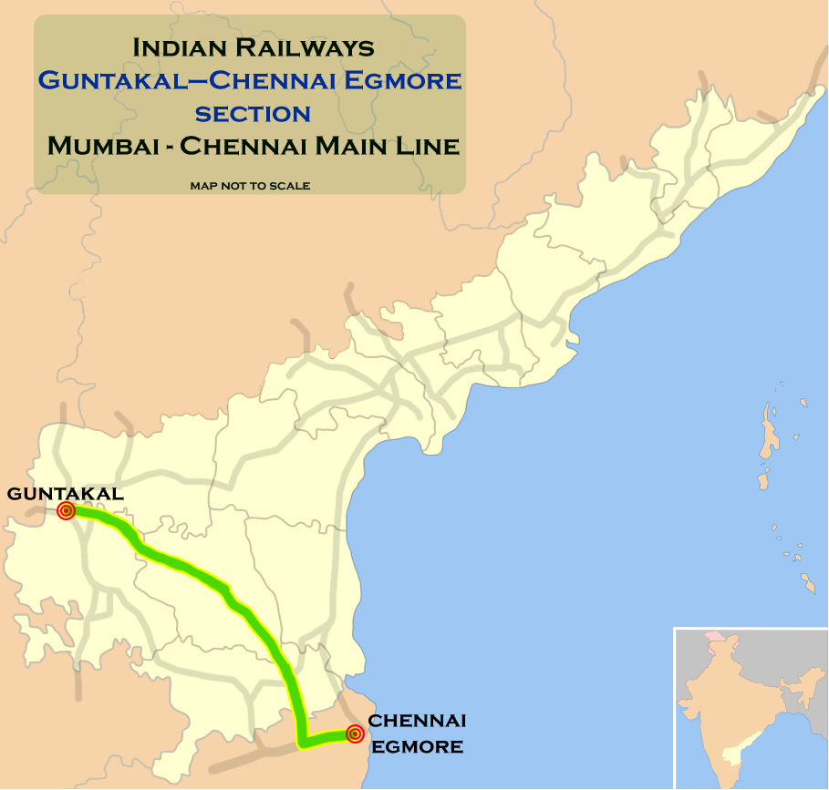 map andhra pradesh with Guntakal E2 80 93chennai Egmore Section on 3485473224 besides 1305147262 also Temples In Kanyakumari as well File Nagaland in India furthermore Odisha.