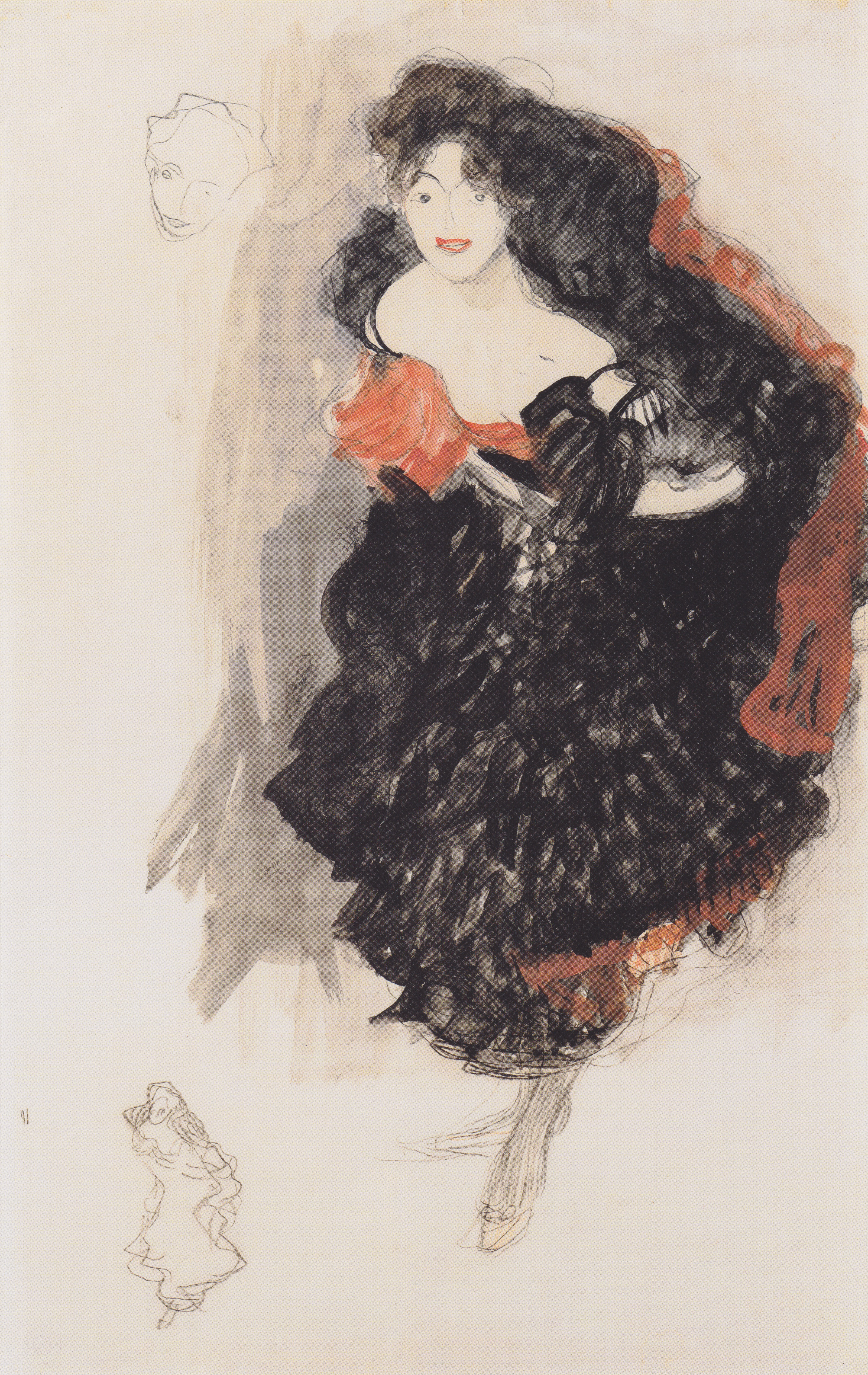File:Gustav Klimt - Studie zum Gemälde Judith II - ca1908.jpeg ...