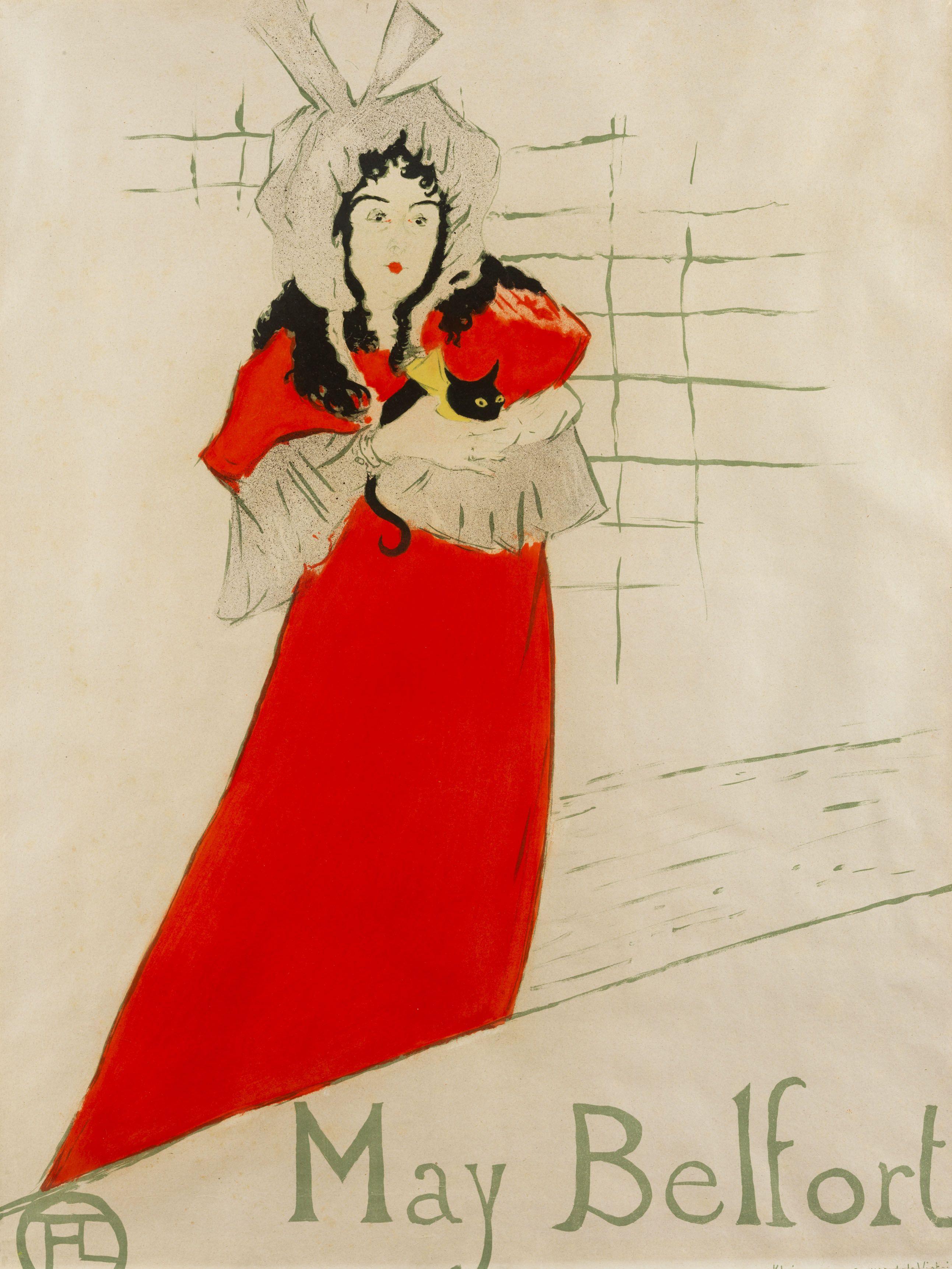 File:Henri de Toulouse-Lautrec May Belfort poster 1895.jpg ...
