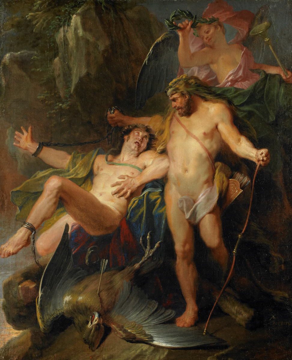 hercules freed prometheus