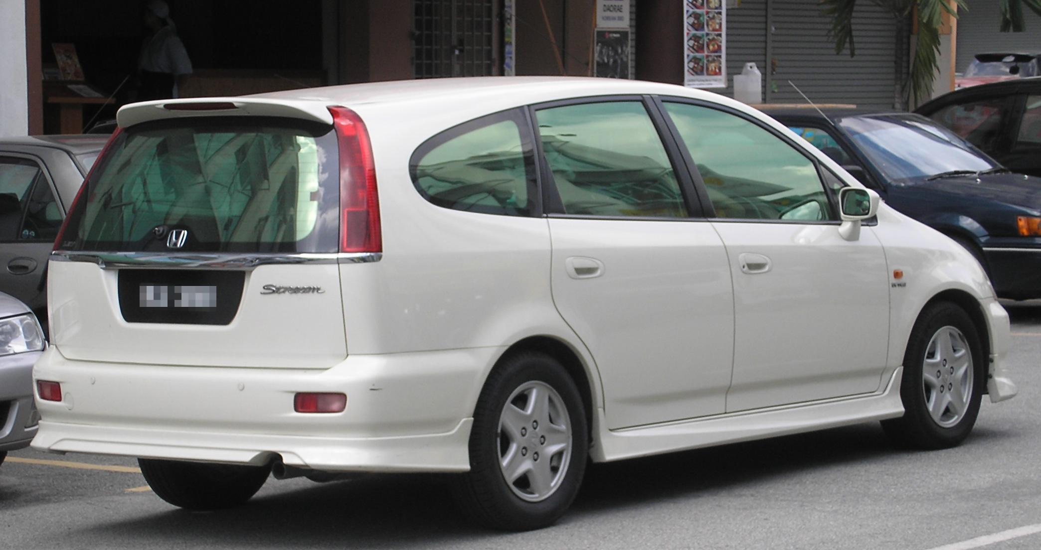 File Honda Stream First Generation Rear Serdang Jpg