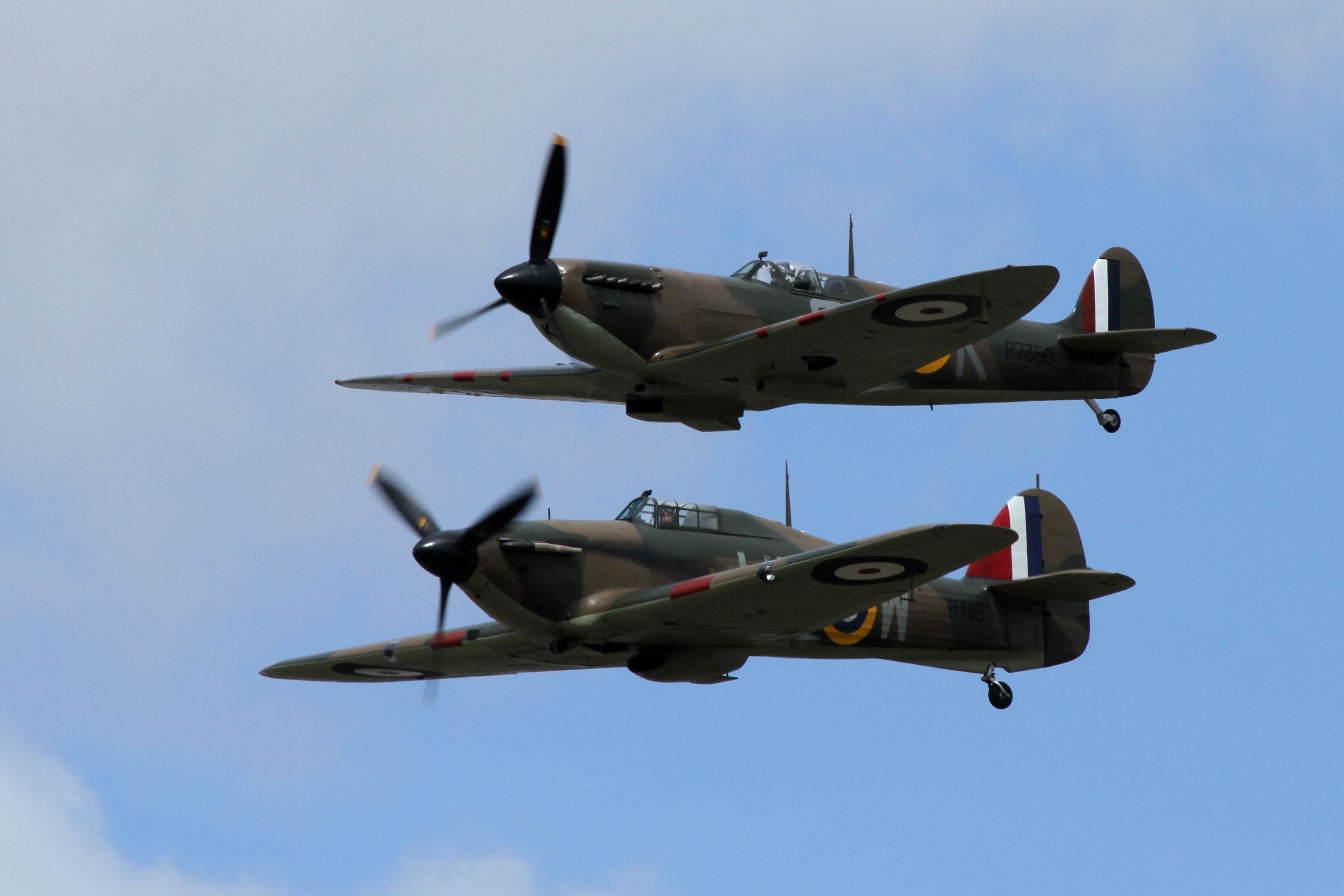 File Hurricane And Spitfire 01 4817630963 Jpg