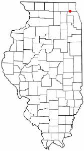 Location of Barrington, Illinois