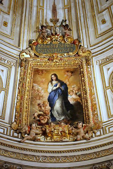 File inmaculada de murillo en la sala capitular catedral for Sala 0 teatro sevilla