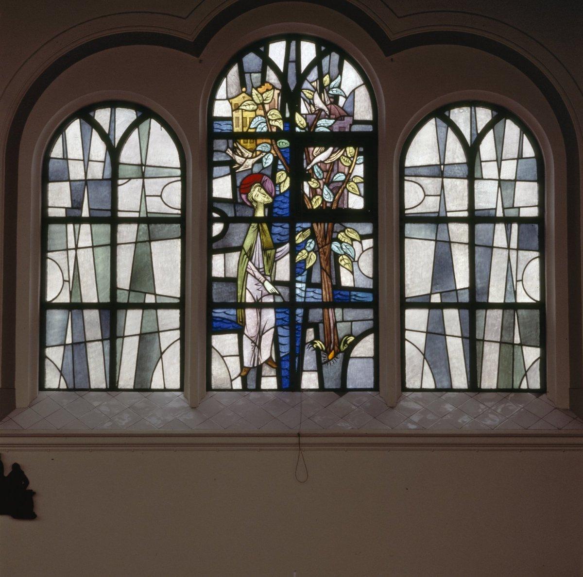 File interieur aanzicht gebrandschilderd glas in for Interieur amsterdam