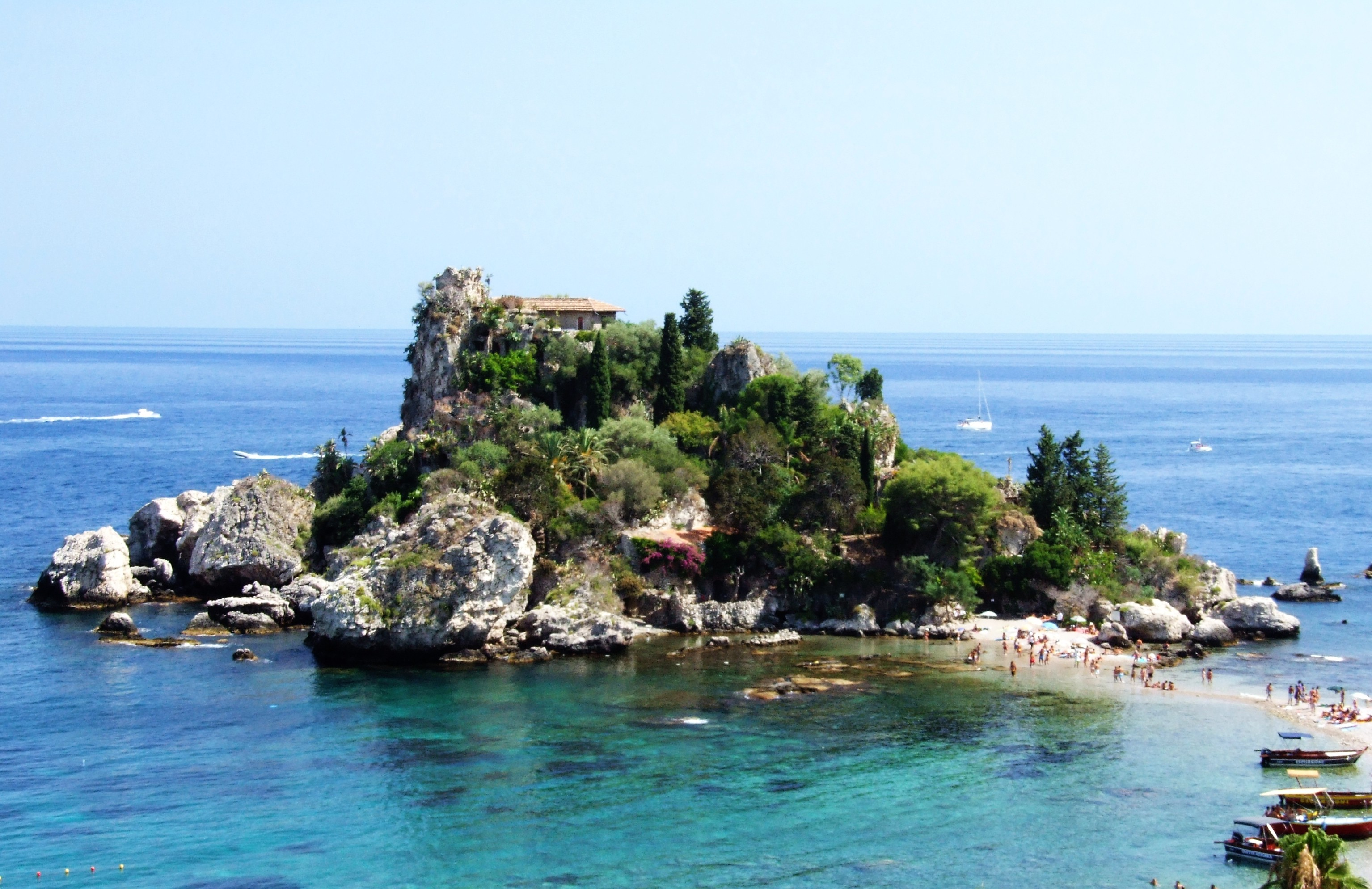 File isola bella taormina messina sicilia italy creative for Taormina sicilia