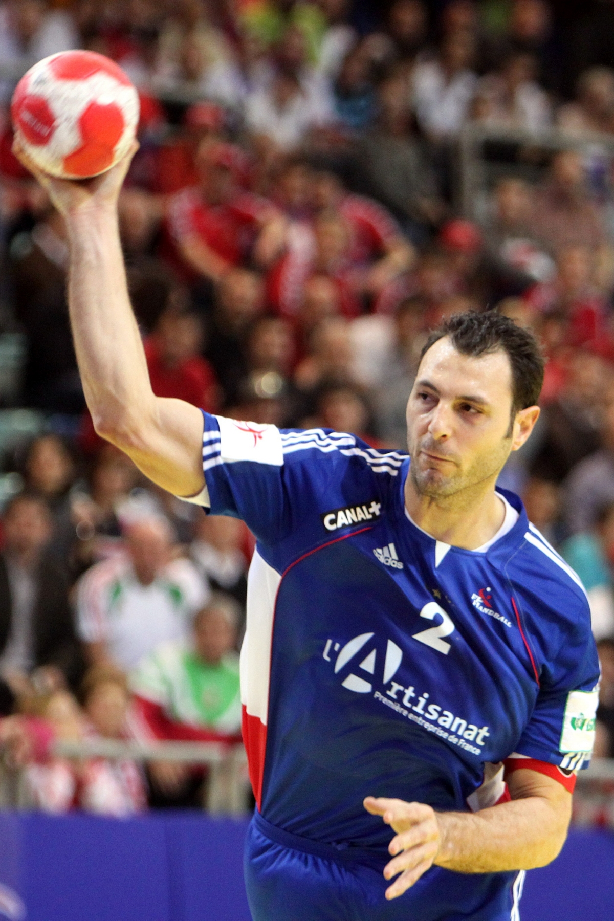 File Jerome Fernandez Bm Ciudad Real Handball Player Of France 4 Jpg Wikimedia Commons