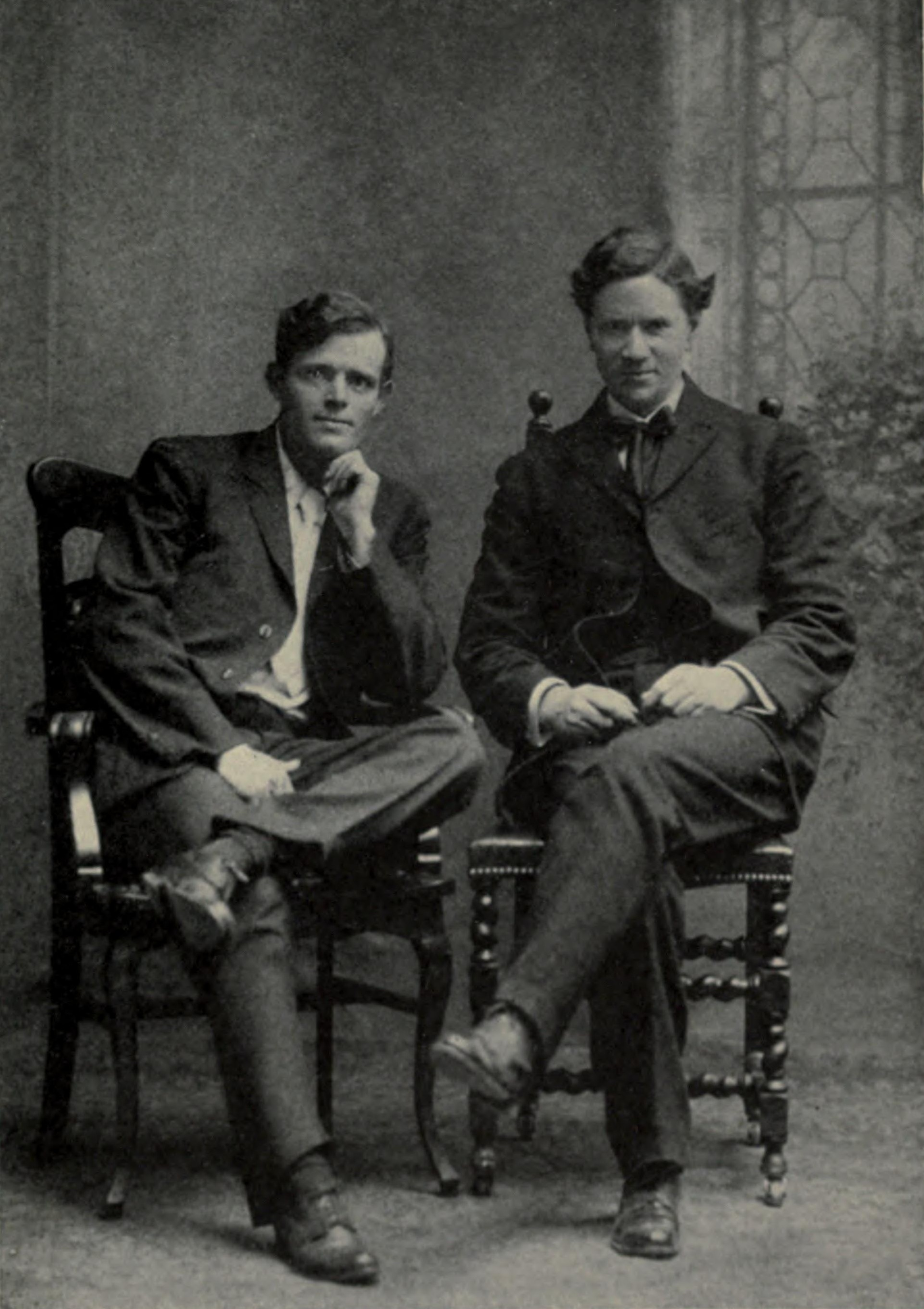File:J London and Alexander Irvine at Yale 1906.jpg