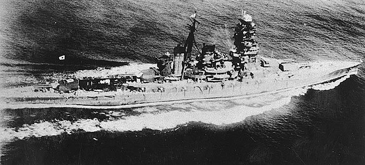 Yank, the Army Weekly Japanese_Battleship_Hiei