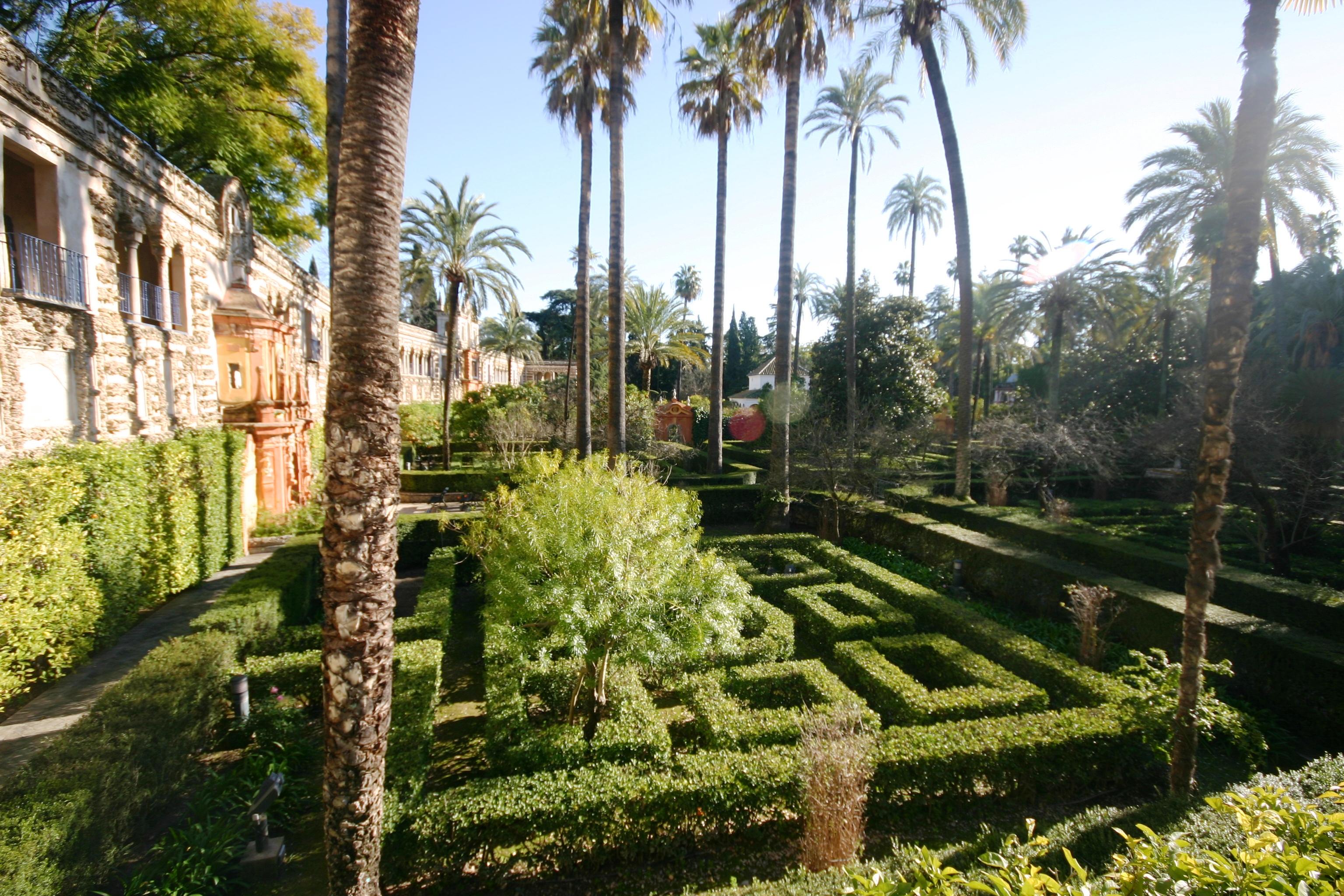 file jardin de las damas alcazar of seville 6 jpg