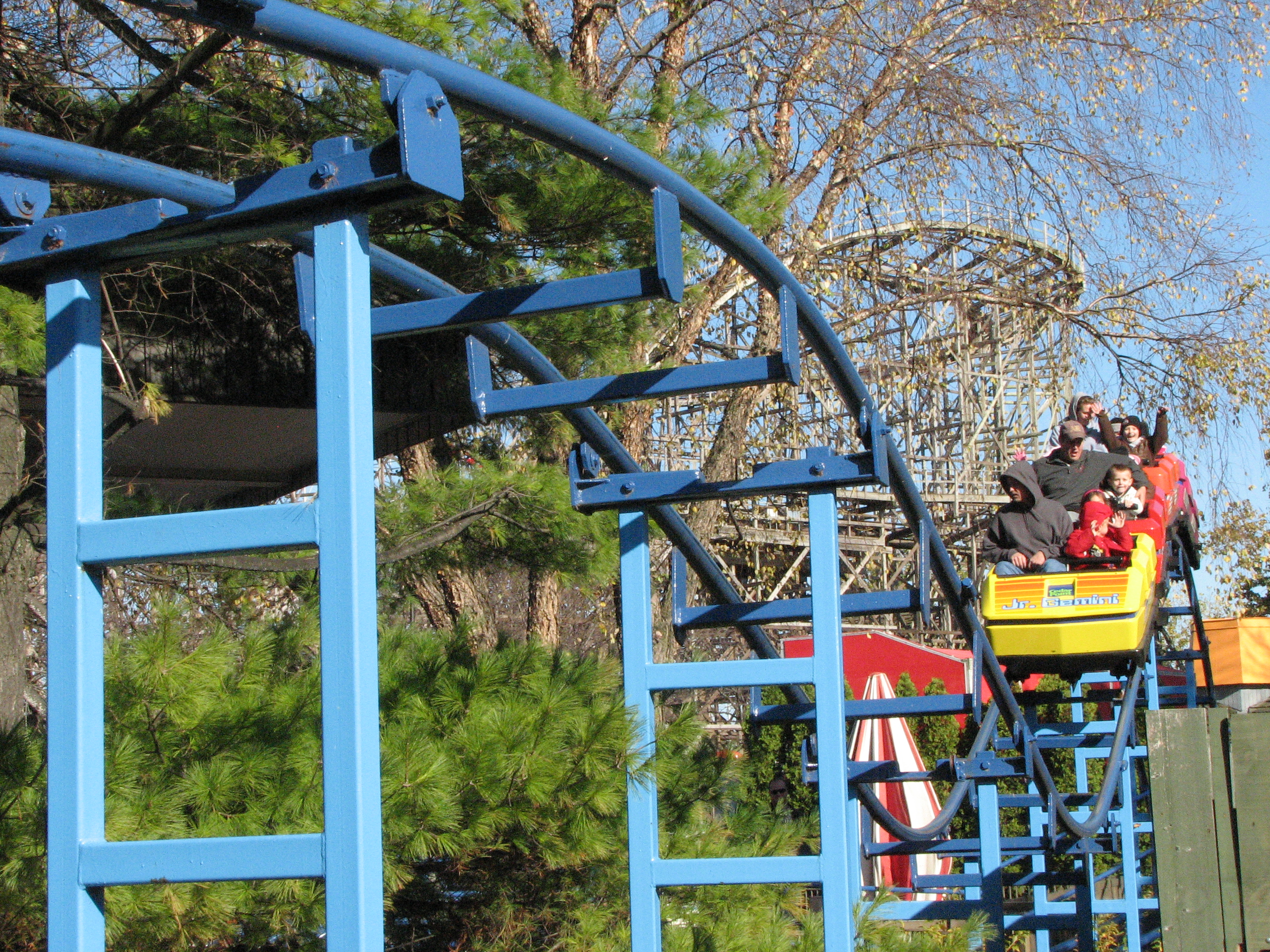 Jr gemini roller coaster - photo#10