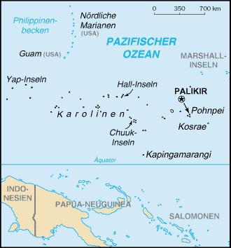 Marshall Islands Map Saipan