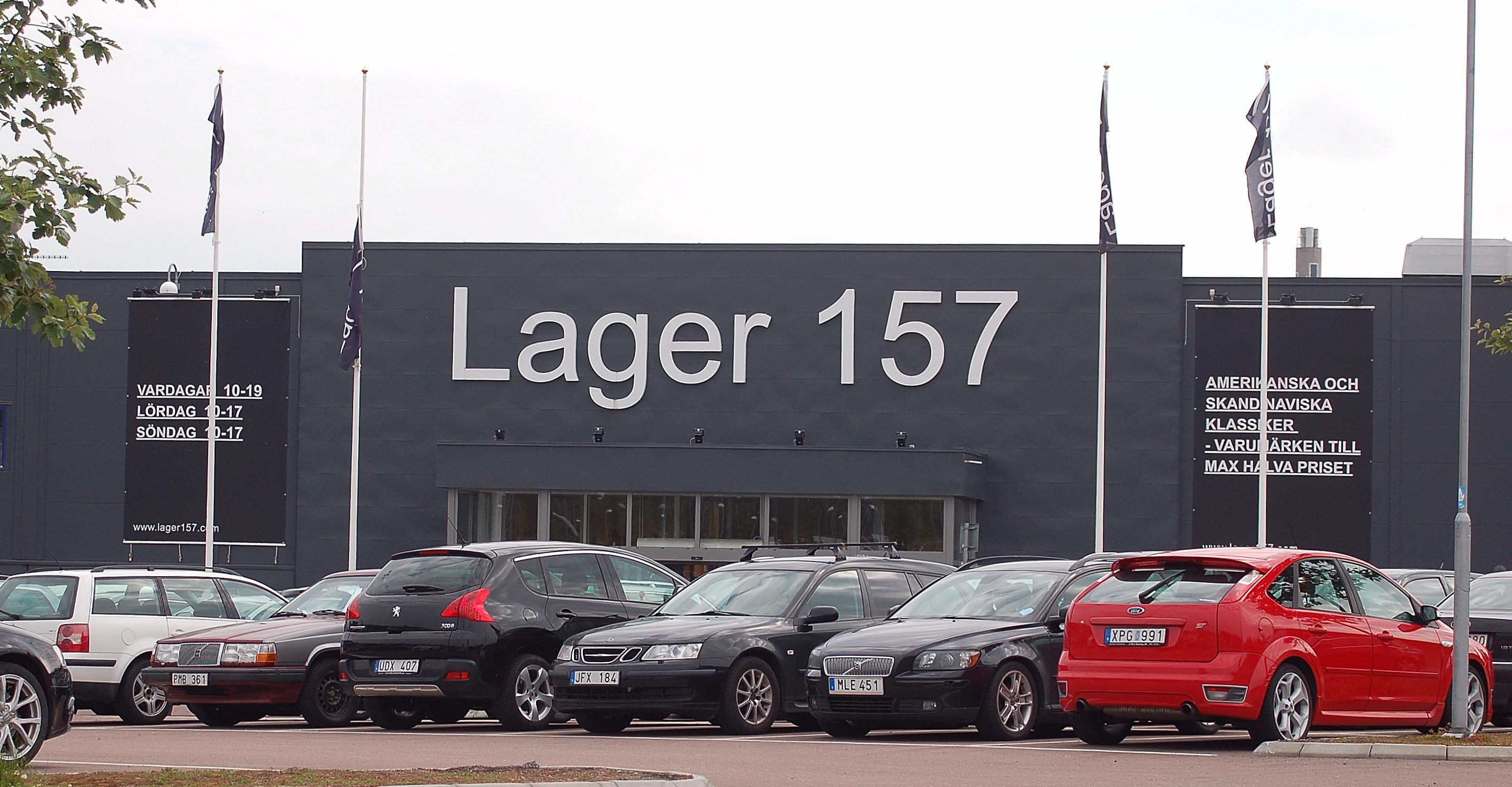 lager 157 norrköping öppettider