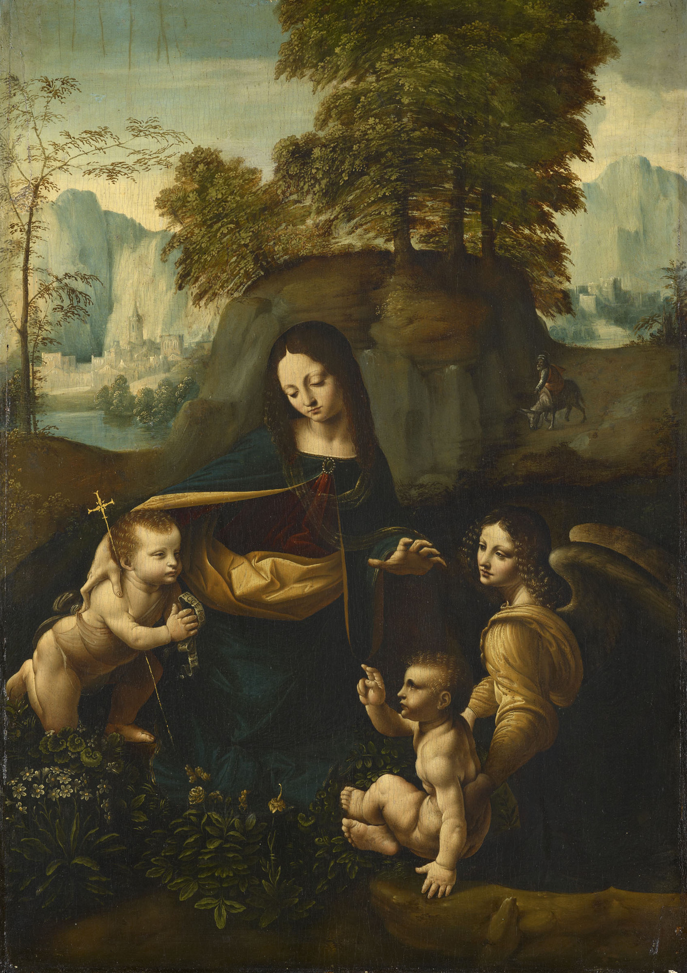 an analysis of the virgin of the rocks by leonardo da vinci