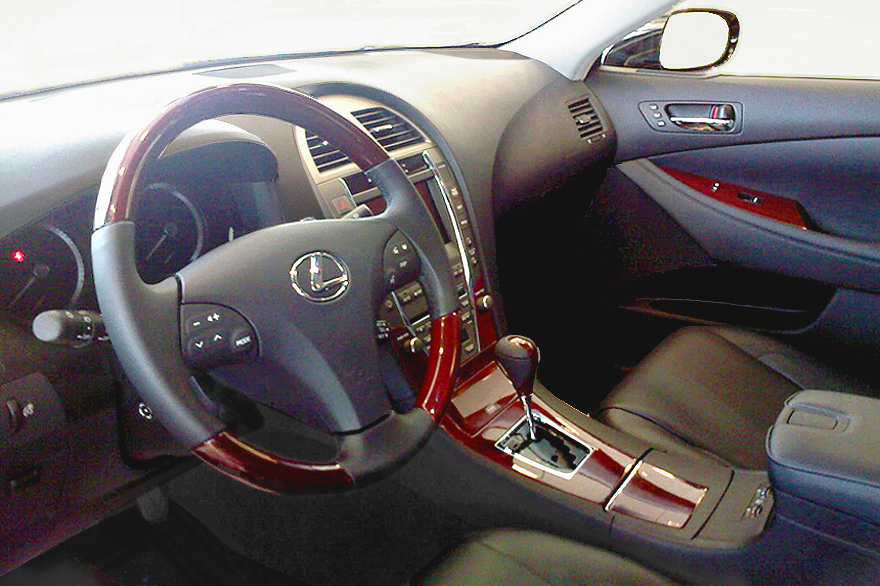 File Lexus Walnut Black Es 350 Interior Jpg Wikimedia