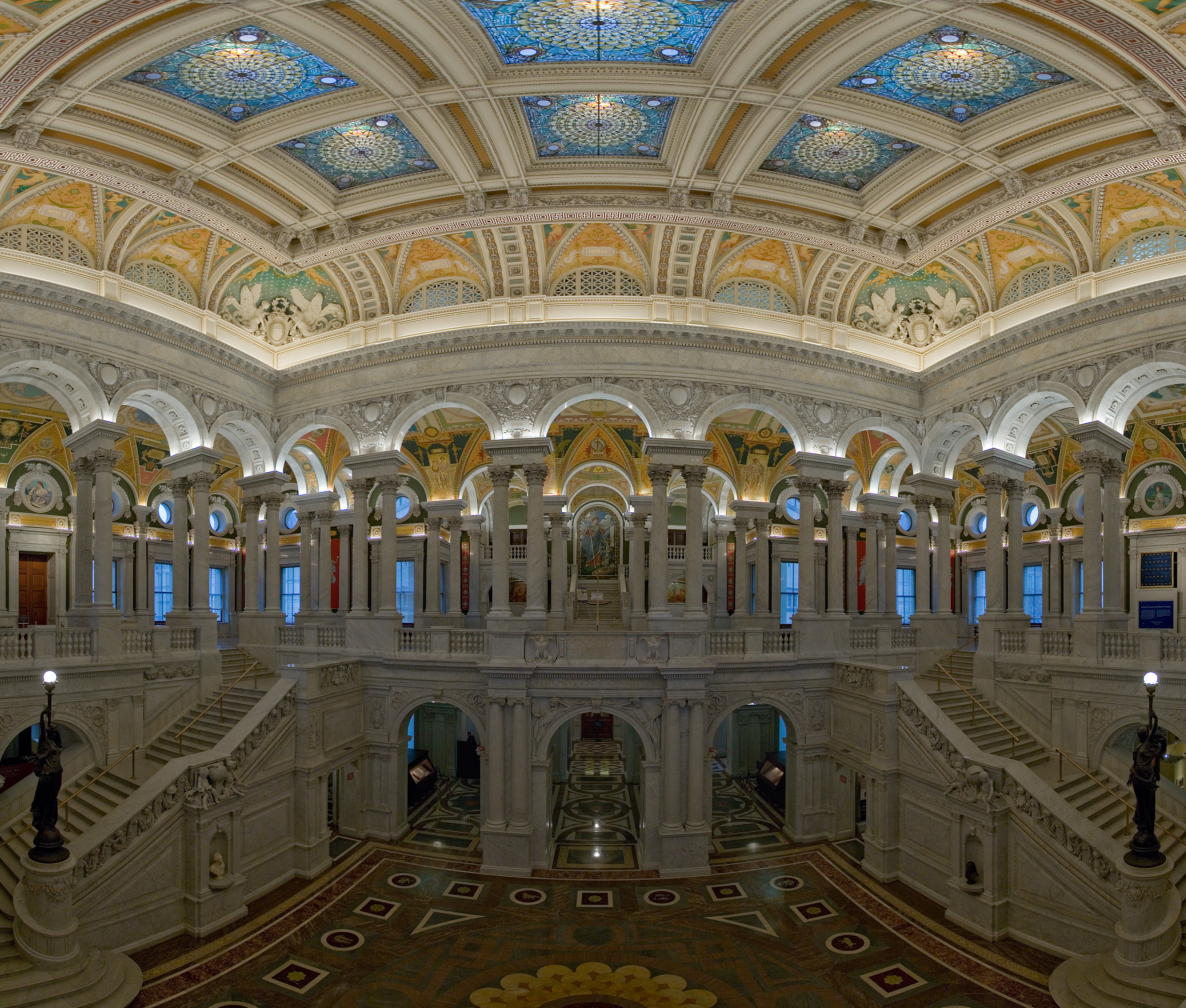 Library Of Congress Main Reading Room Architecture