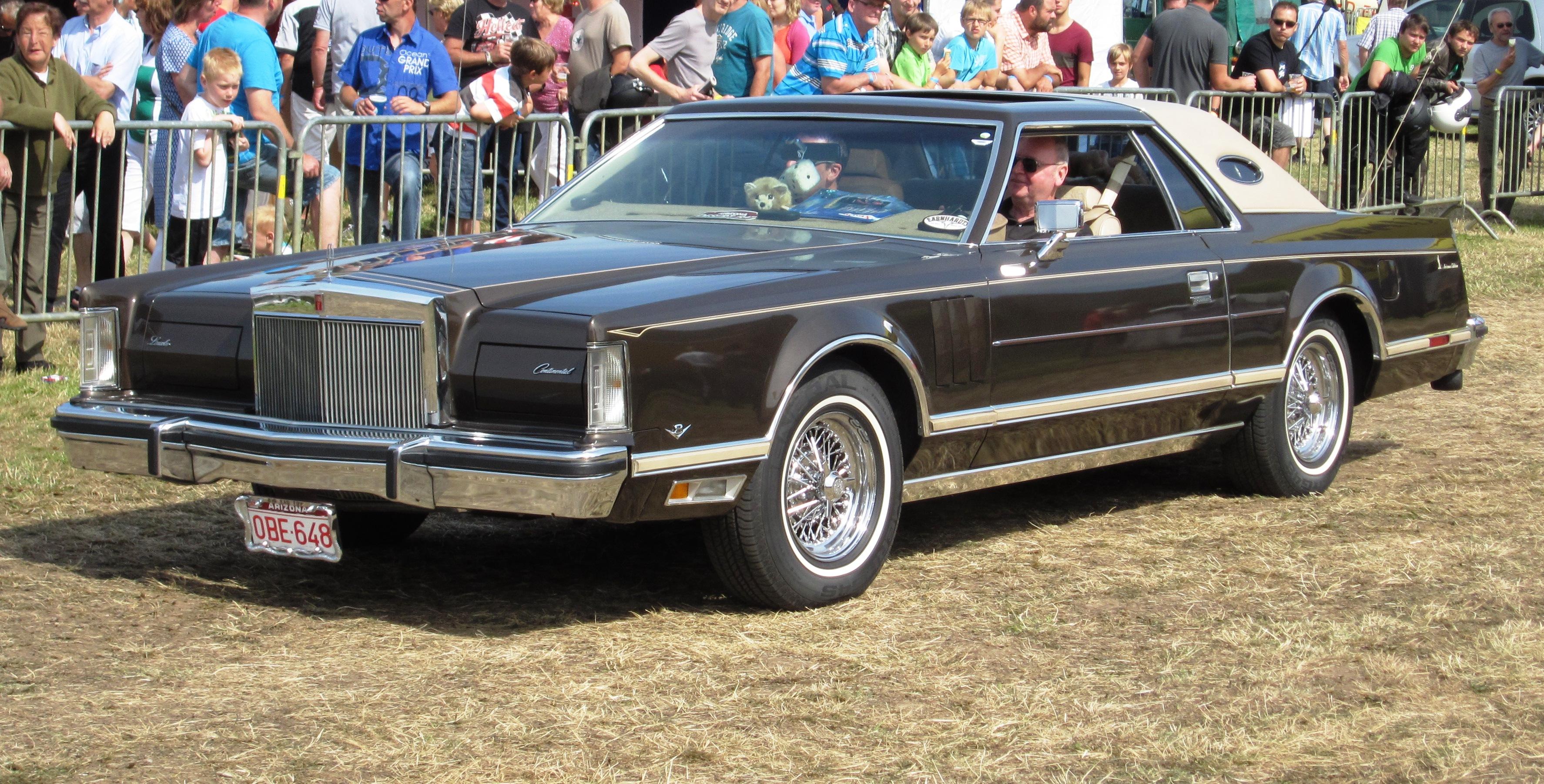 File Lincoln Continental Mk V Ca 1978 Schaffen Diest 2012