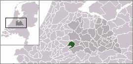 Hekendorp Village in Utrecht, Netherlands
