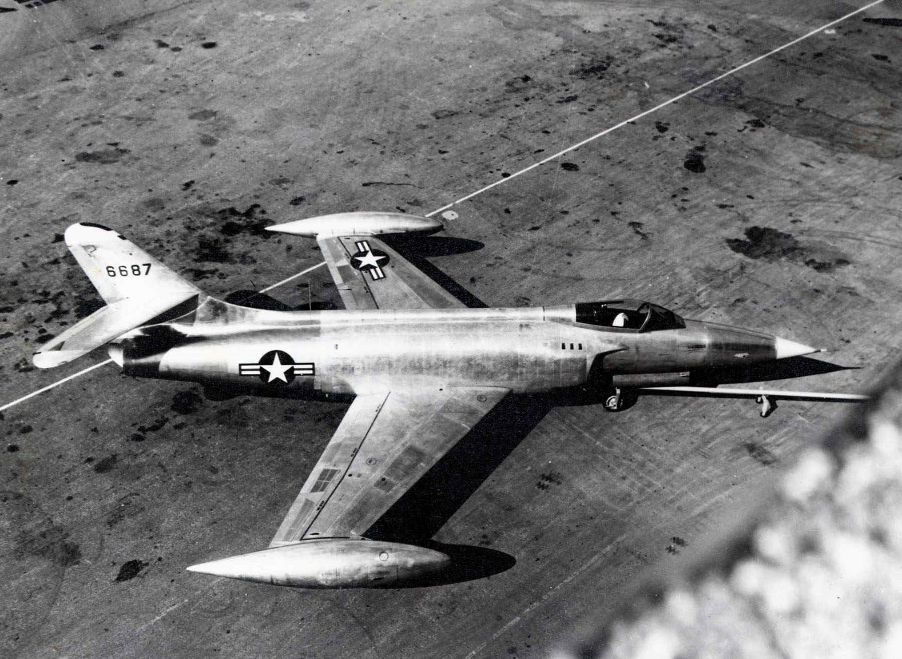 SuperSonic Youth - Lockheed YF-104A Starfighter