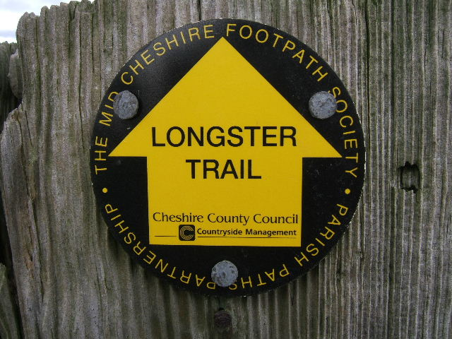 Longster Trail Sign - geograph.org.uk - 715846