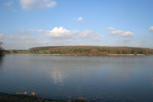 Looking towards the northwest arm of Thornton Reservoir - geograph.org.uk - 331928