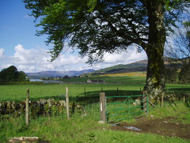 Looking westwards towards Loch Venachar - geograph.org.uk - 173078