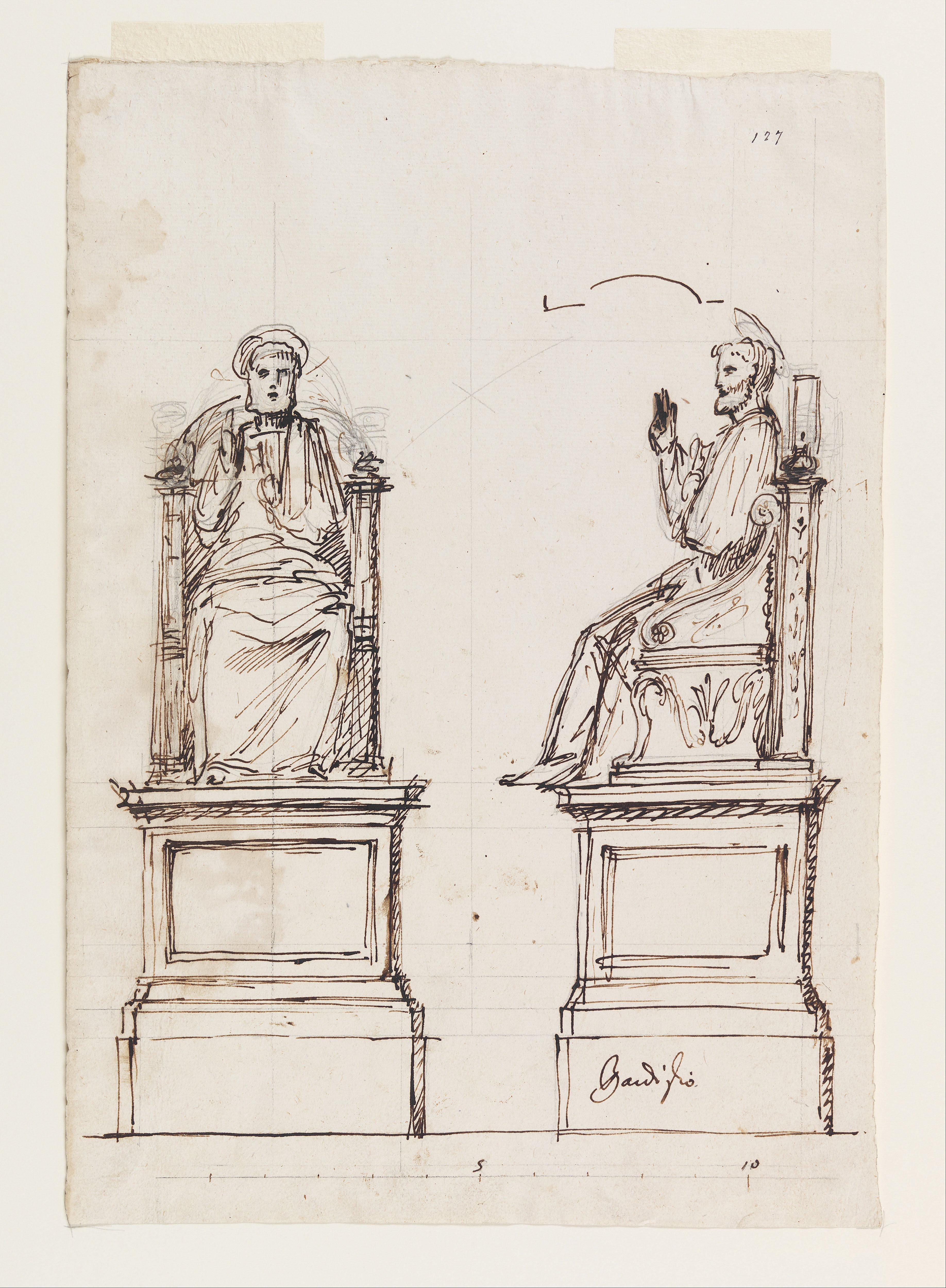 FileLuigi Vanvitelli Design For A Marble Throne The