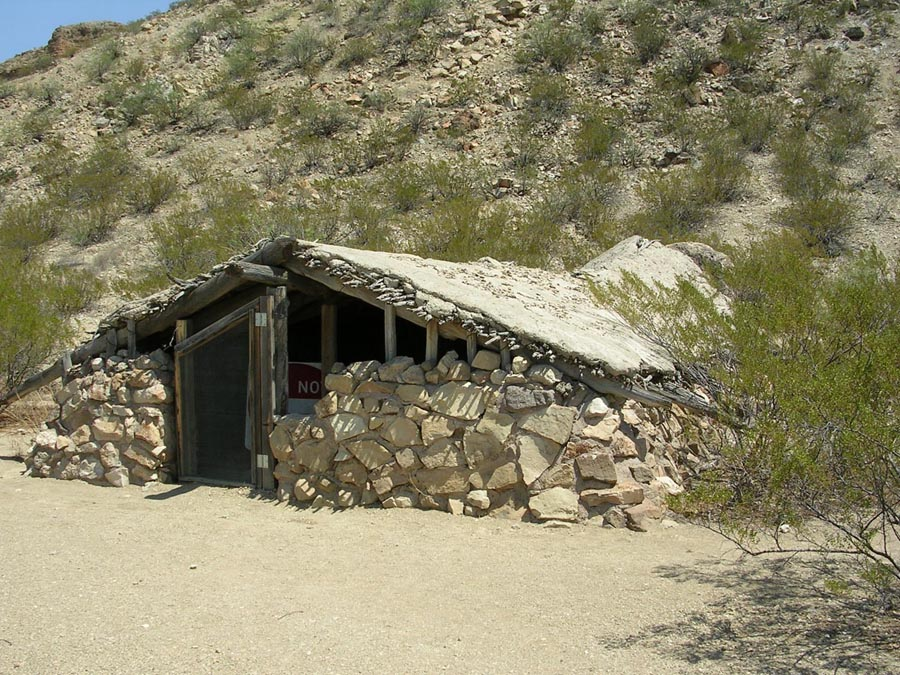 Native American Pit House Jacal - Wikipedia