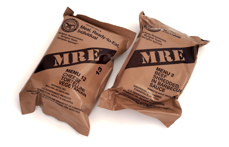 CAMPING FOOD MRE MENU 20 US MRE HASH BROWN New food rations US ARMY FREE DELI