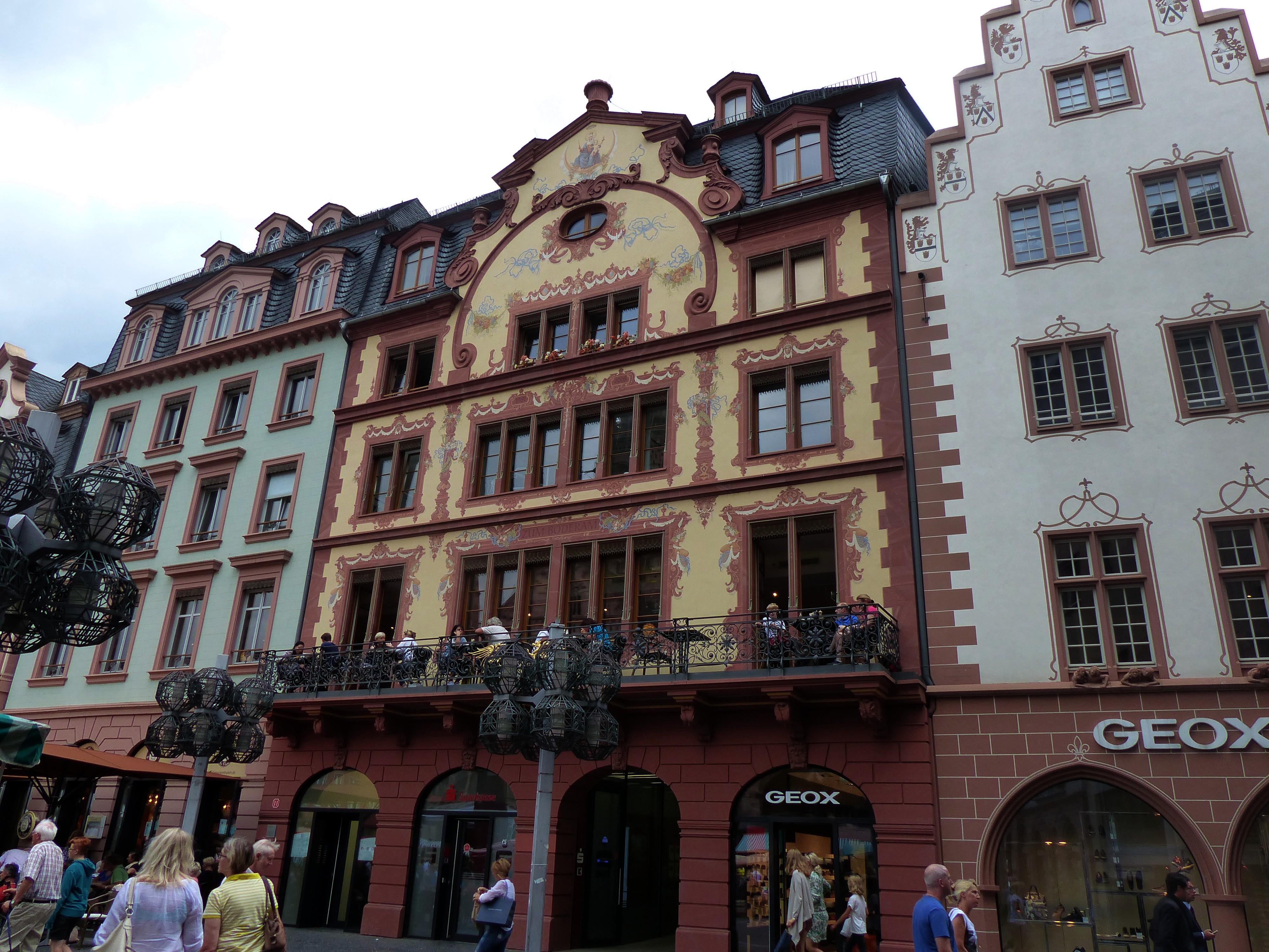 Architekt Mainz file mainz zum boderam barockbau architekt johann maximilian