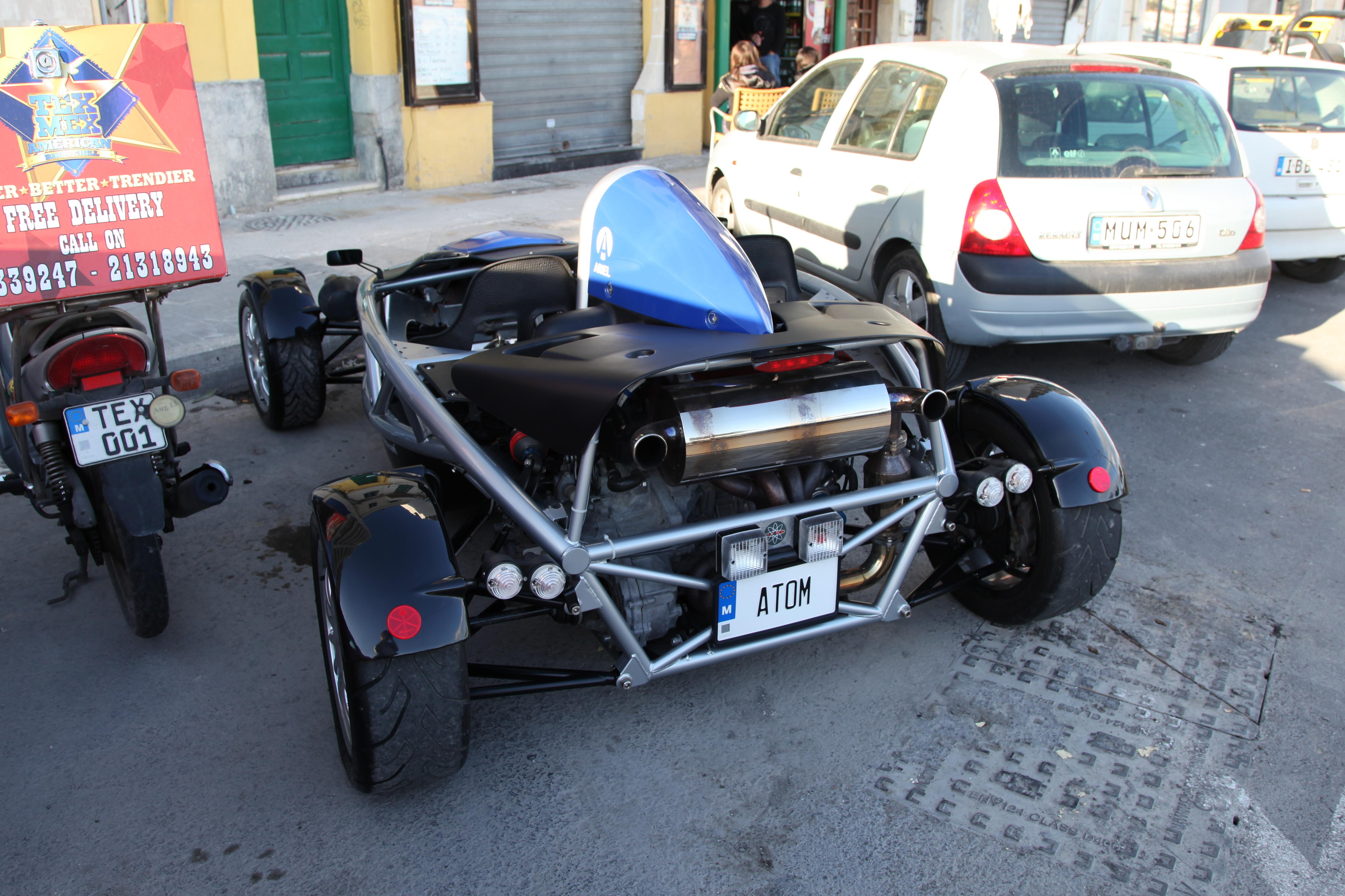 File:Malta - Sliema - Triq Ix-Xatt - Ariel Atom 01 ies jpg