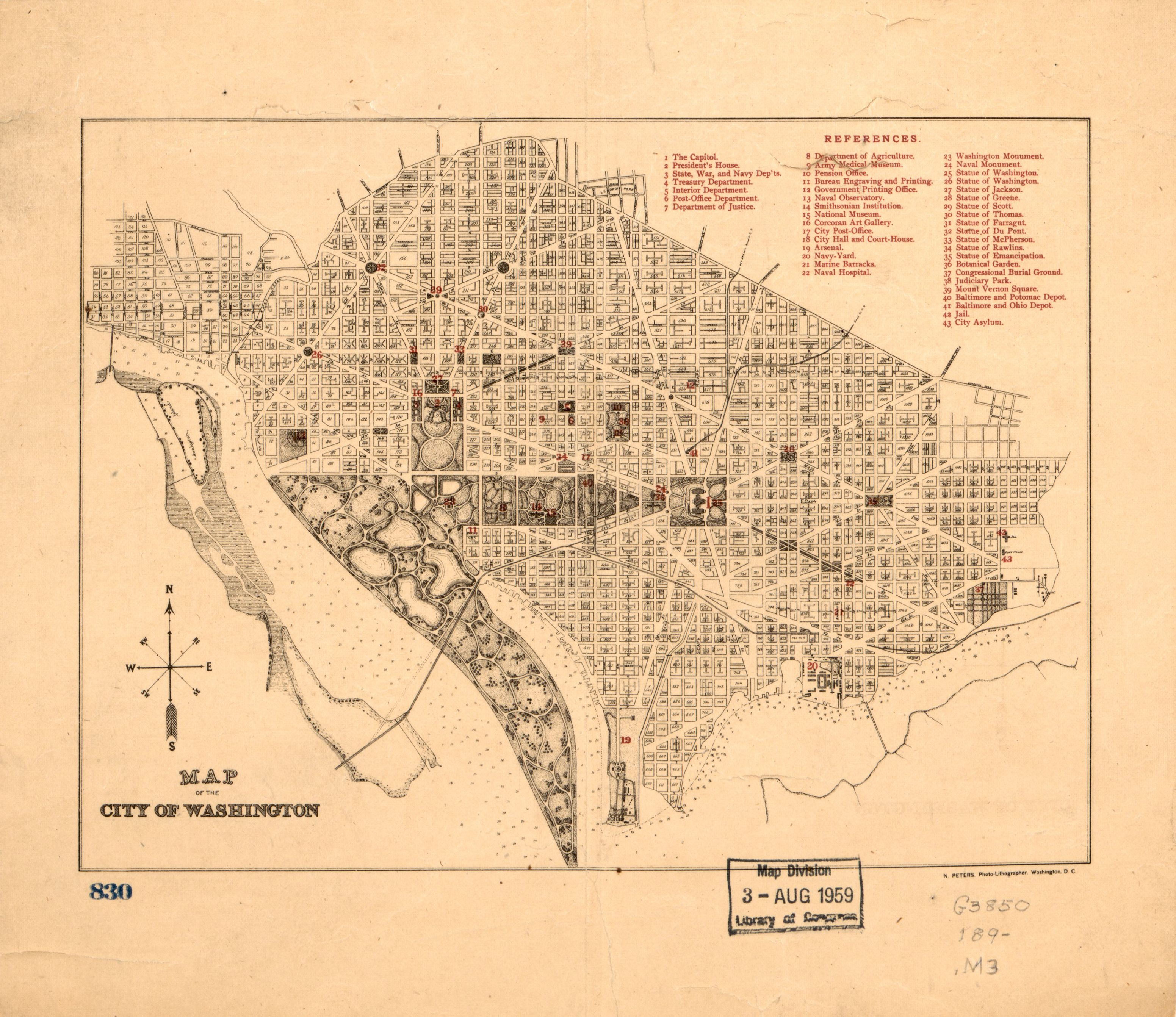 File:Map of the city of Washington  LOC 88693404 jpg