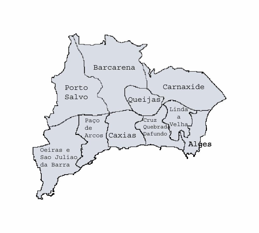 mapa concelho de oeiras Ficheiro:Mapa freguesias Oeiras. – Wikipédia, a enciclopédia livre mapa concelho de oeiras