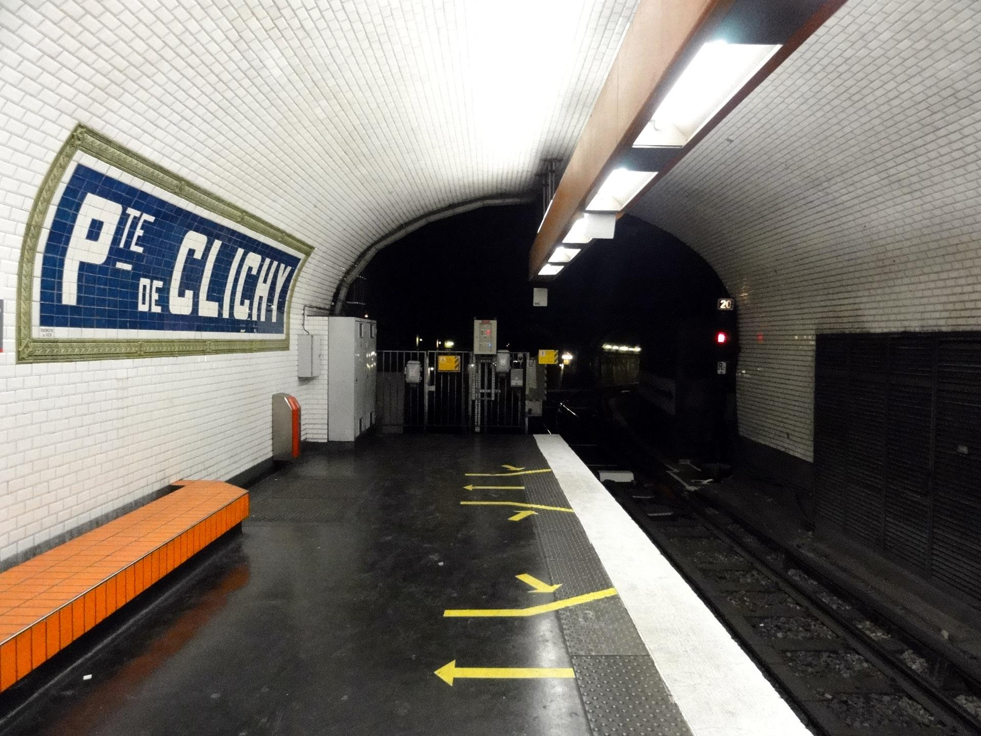 File Metro De Paris Ligne 13 Porte De Clichy 04 Jpg Wikimedia