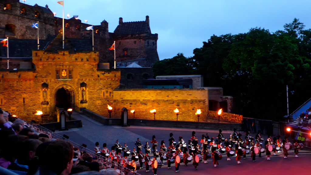 Edinburgh Military Tattoo 2008 - Mass. Military Tattoo -Massed Pipe and