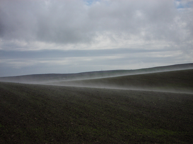 File:Mist forming over fields - geograph.org.uk - 181853.jpg