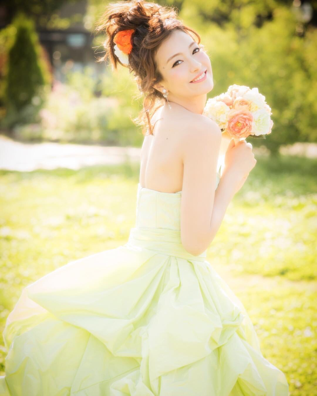 File My Daughter Modeling Wedding Dresses In Hirishima An Jpg