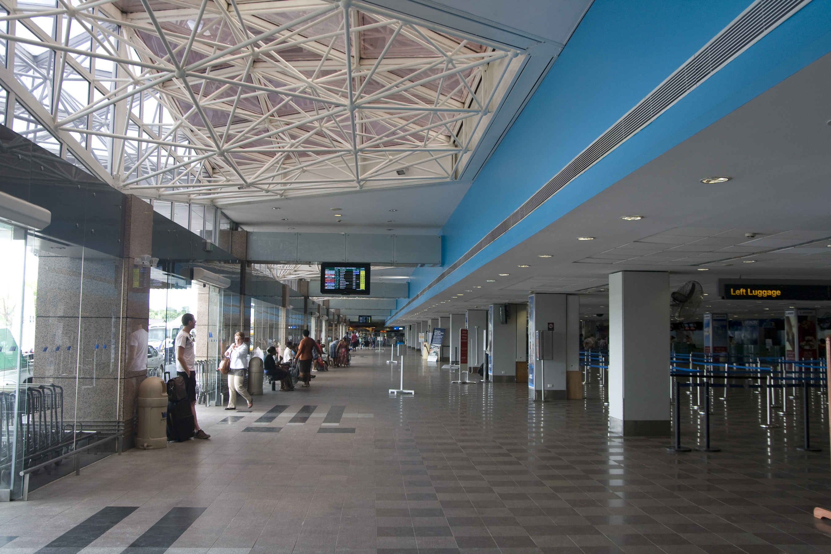 Departures Auckland Fiji Island Flying Time