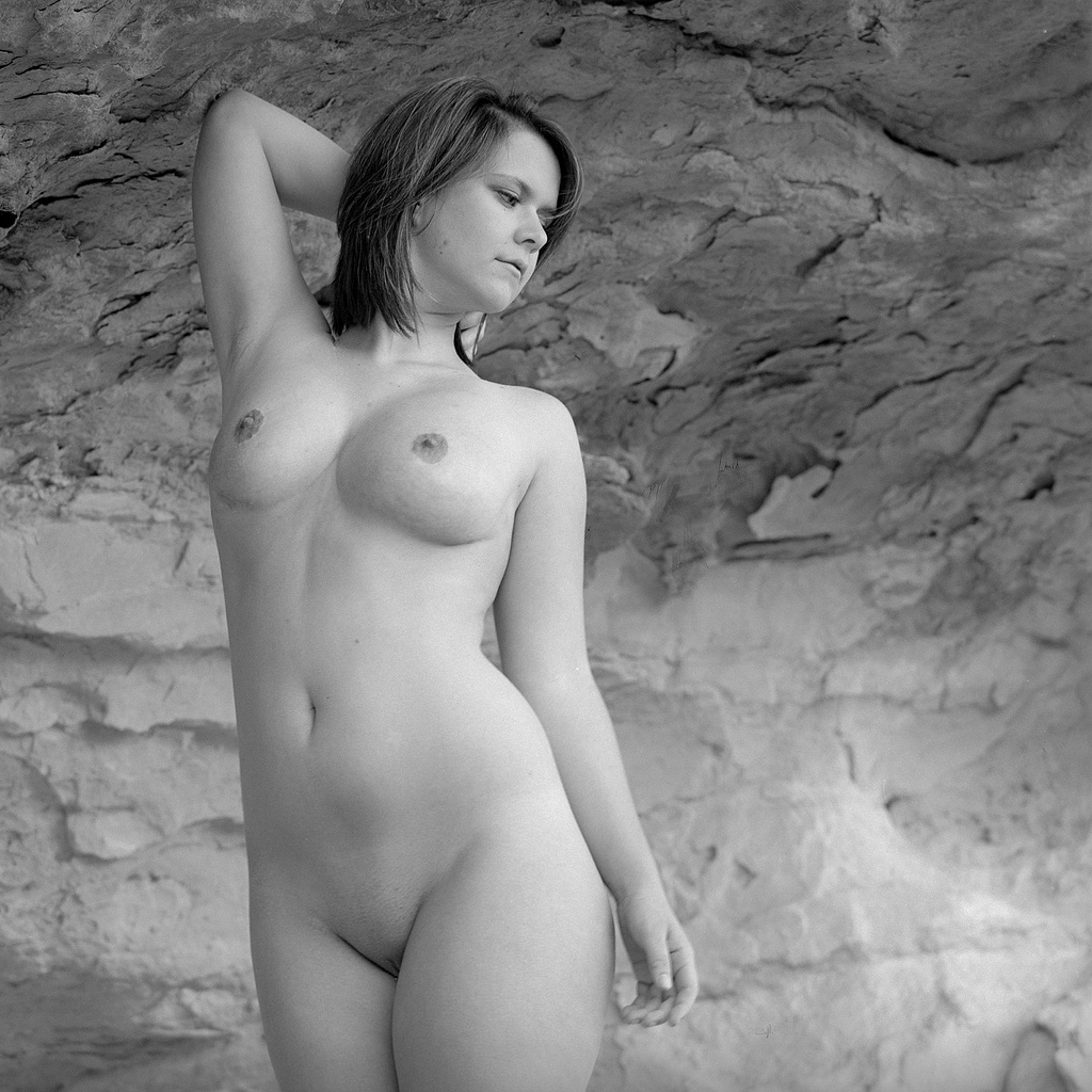 Black and white nude girls
