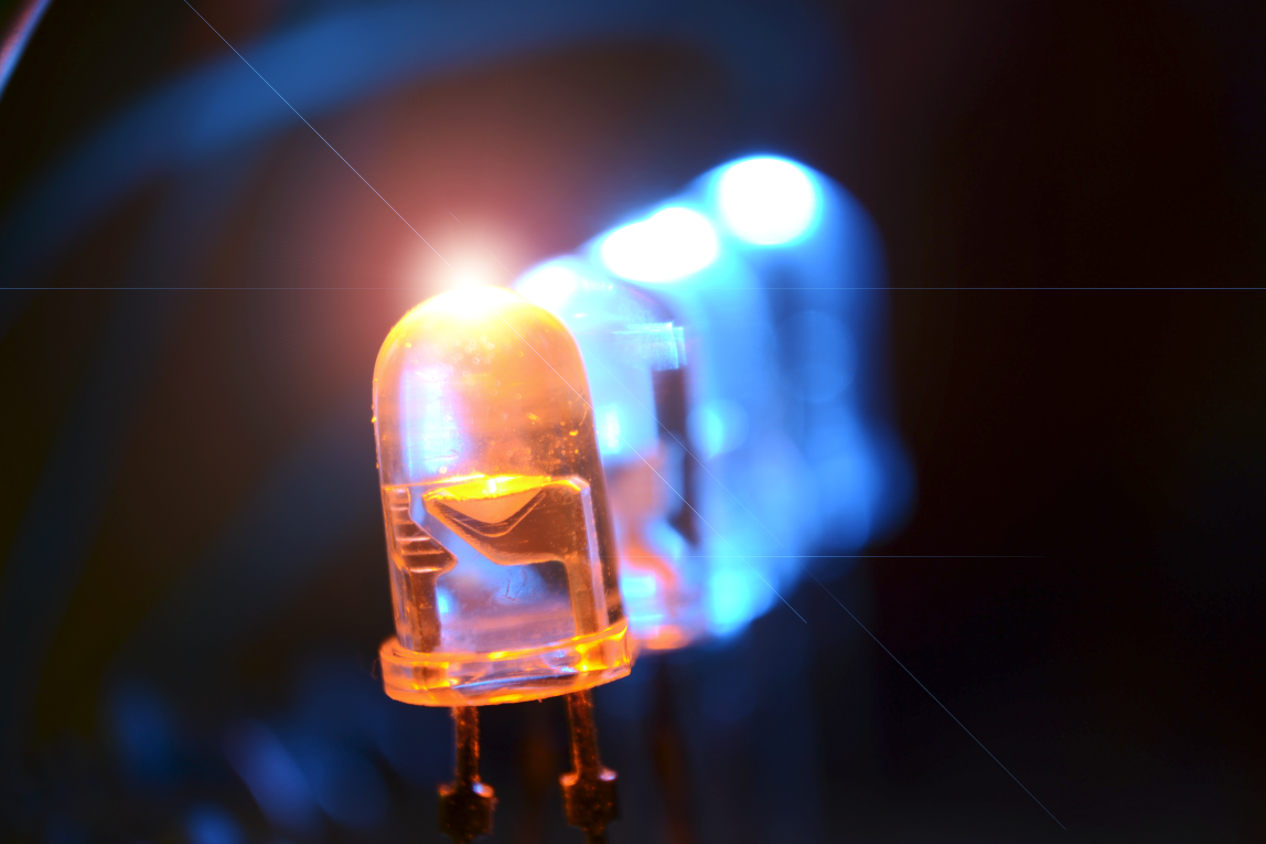 Orange LED emitting.png