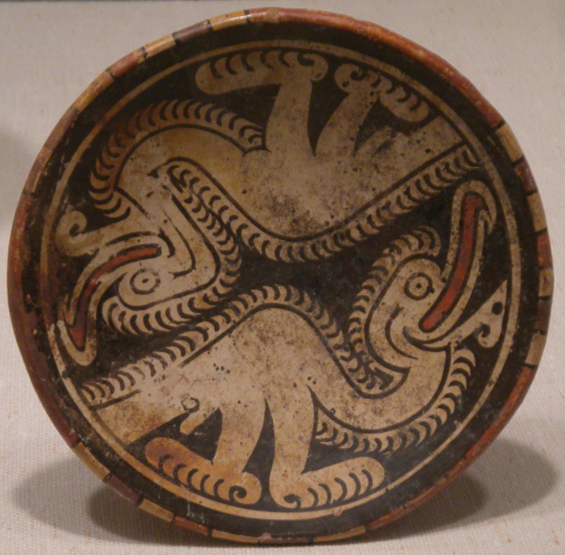 Pedestal Plate, Sitio Conte, Panama