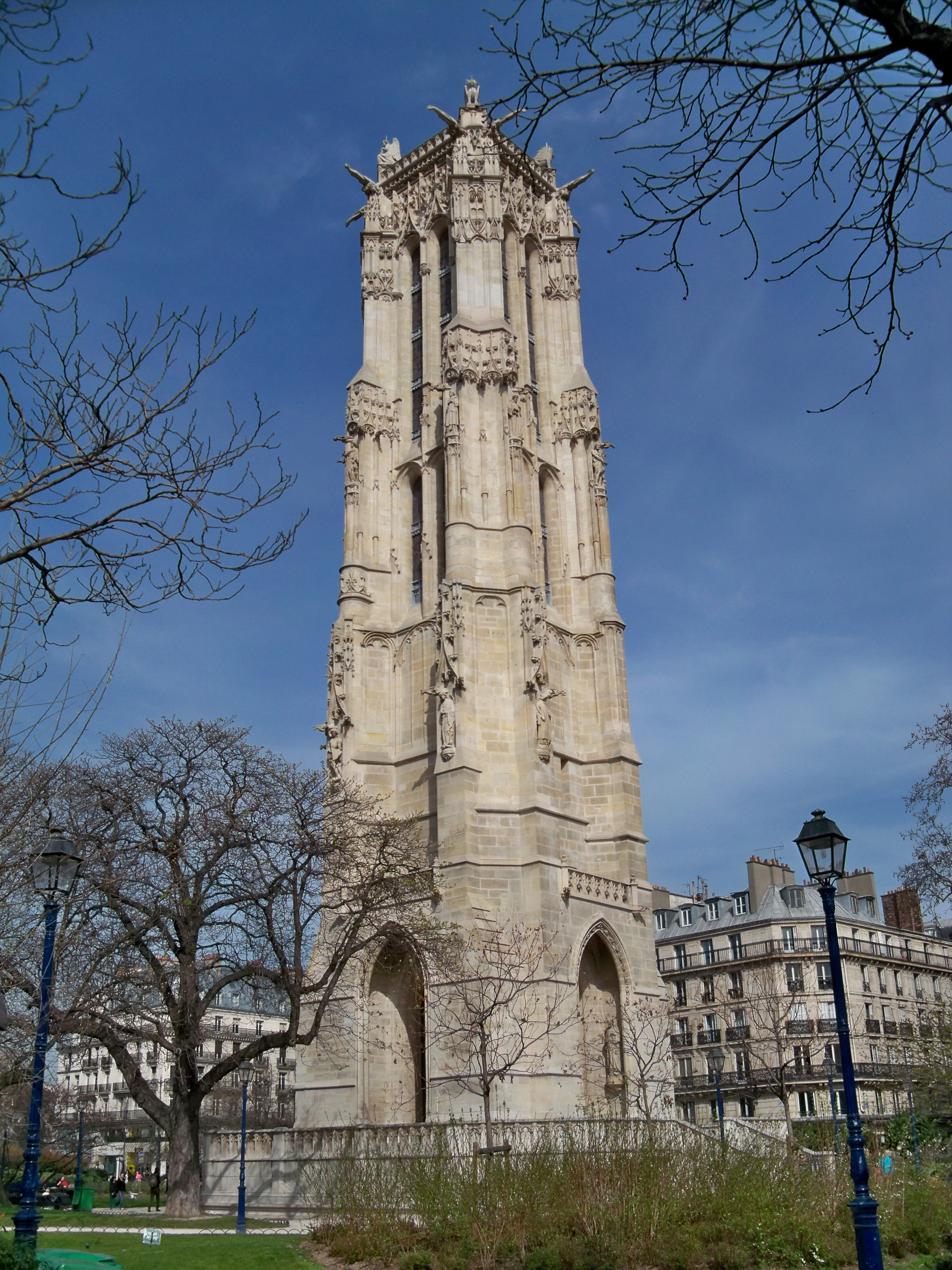 File paris tour saint jacques - Tour saint jacques paris ...