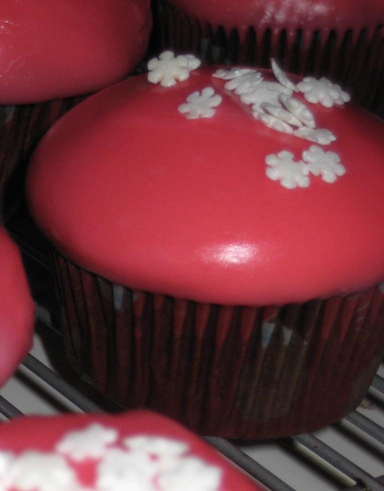 Peppermint Mocha Cupcakes Using Cake Mix