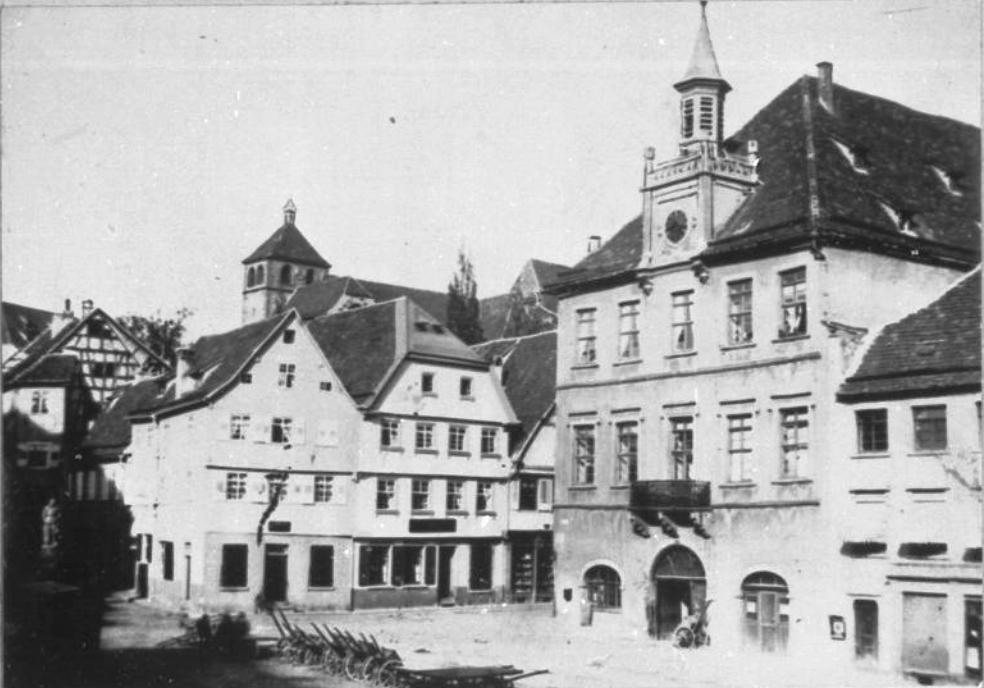 Rathaus Pforzheim Pforzheim