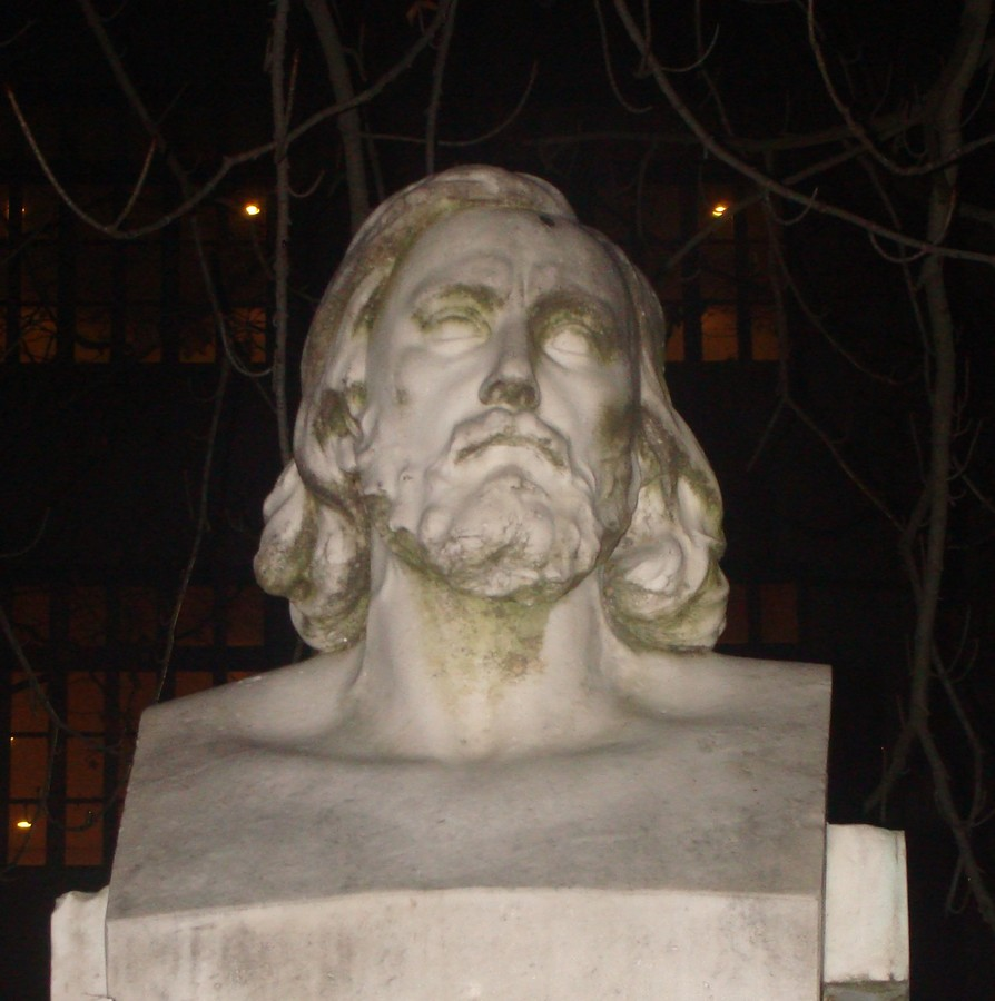 Bust of Pierre Dupont, erected in 1899, in Lyon