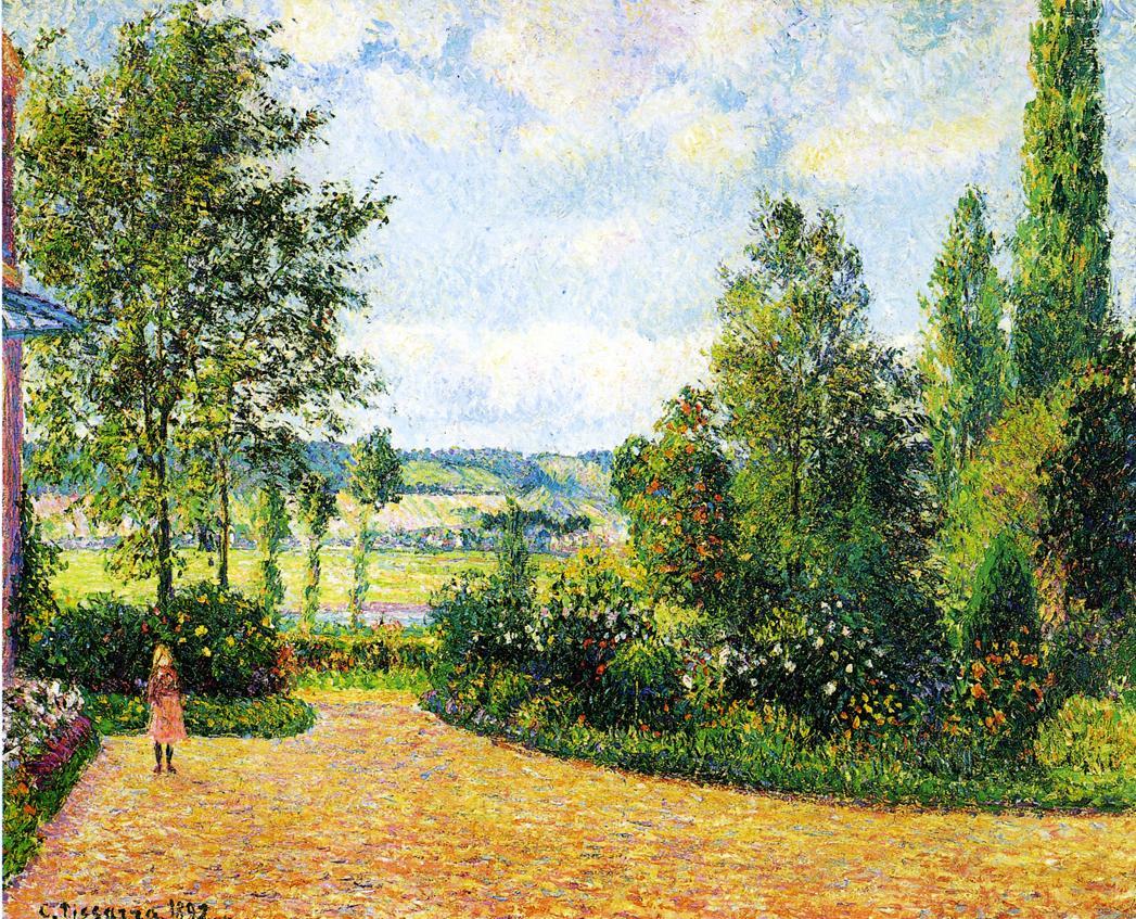 File pissarro jardin mirbeau aux wikimedia for Le jardin de the